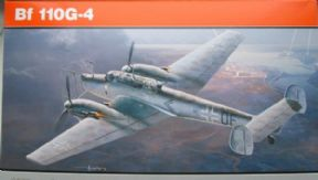 EDK7094 1/72 Messerschmitt Bf 110G-4 Nightfighter Profipack